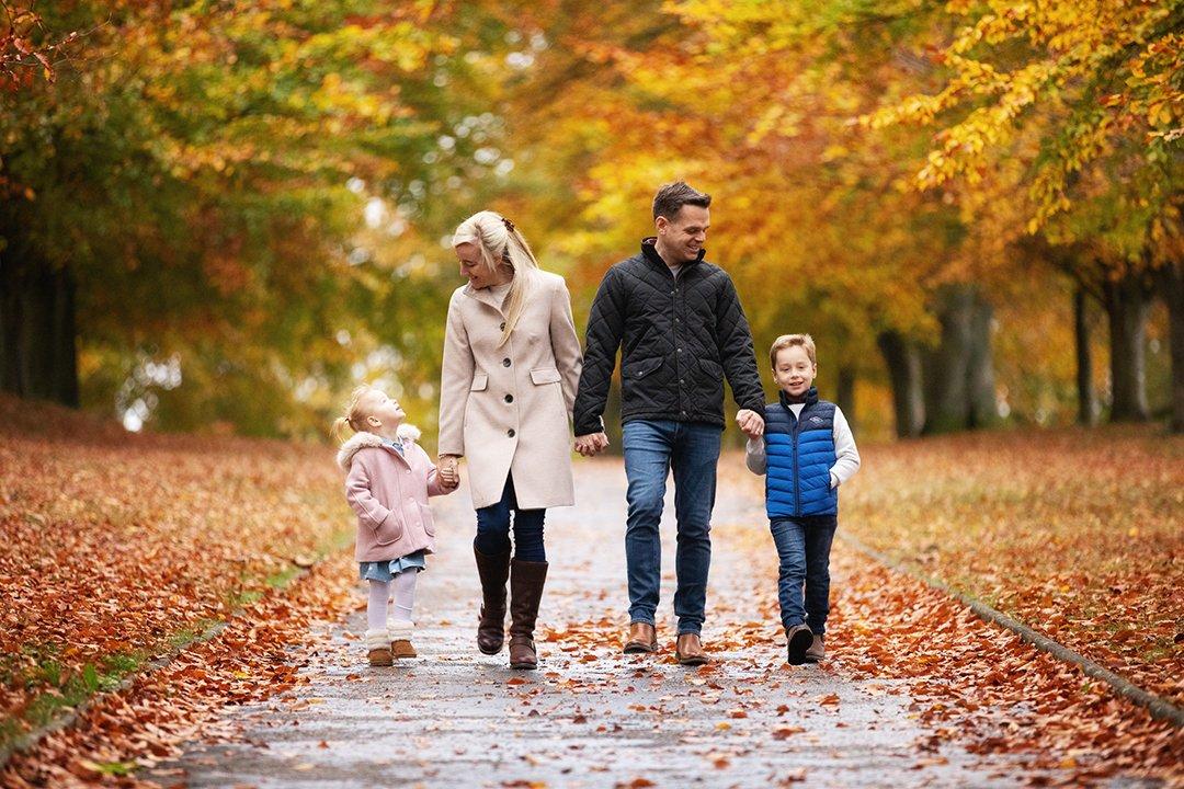 002 Hertfordshire Family Autumn Photo Shoots