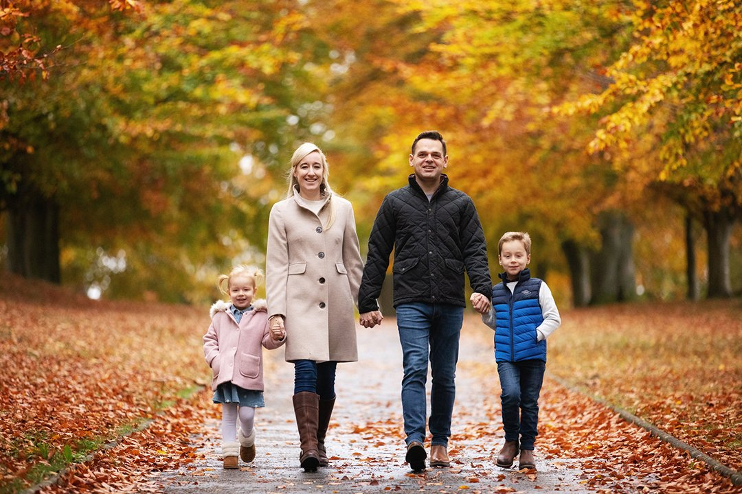 003 Hertfordshire Family Autumn Photo Shoots