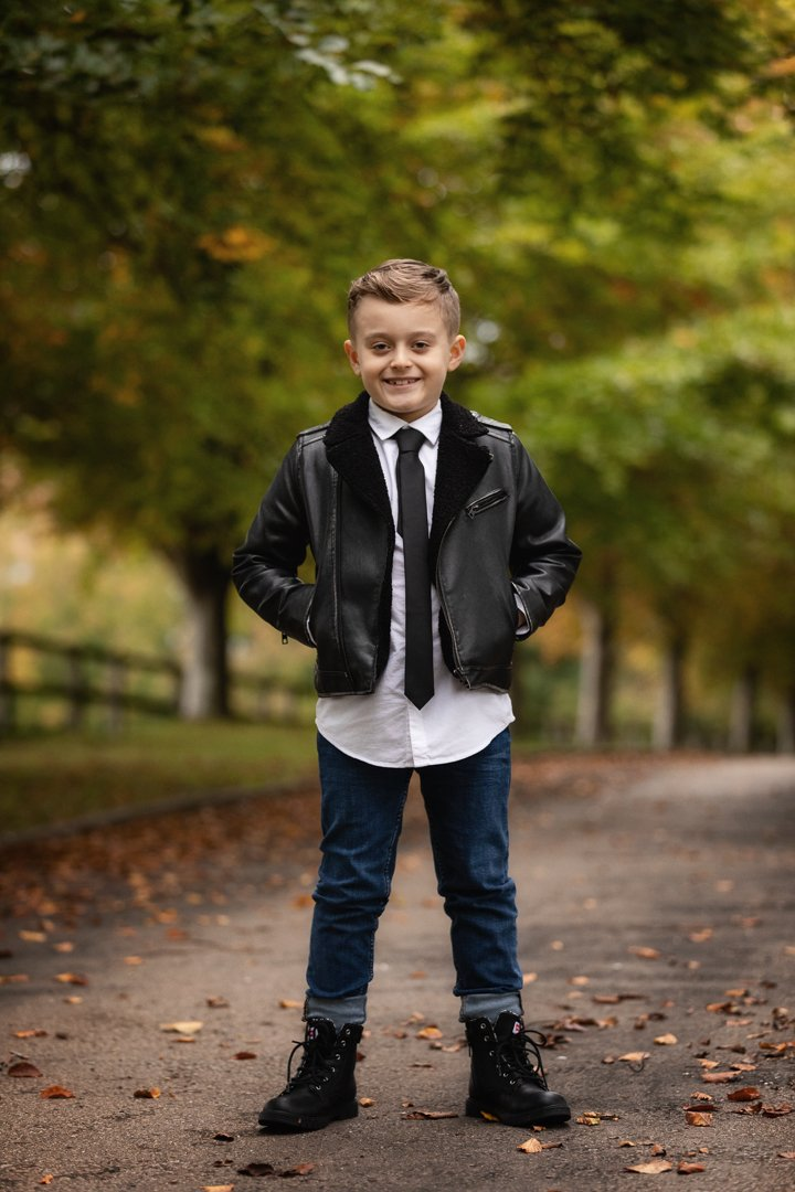 056_Hertfordshire Children's Autumn Photo Shoot