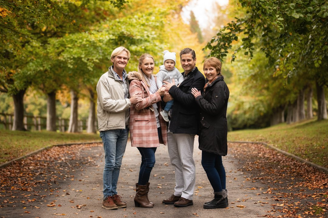 073_Hertfordshire Family Autumn Photo Shoot