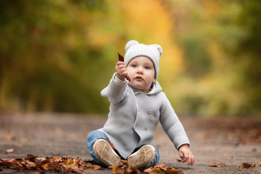 078_Hertfordshire Autumn Toddler Photo Shoot