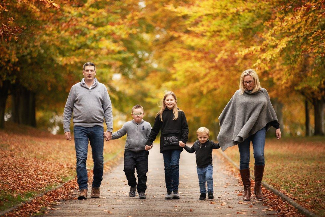 094_Hertfordshire Family Autumn Photo Shoot